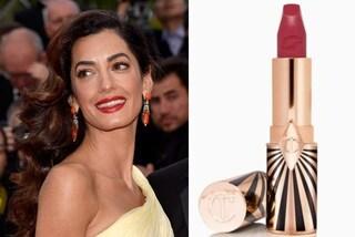 Il rossetto ispirato ad Amal Clooney: ecco il segreto per essere splendide come la moglie di George