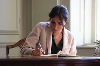Meghan Markle è determinata e nasconde le insicurezze: ecco cosa dice di lei la sua scrittura