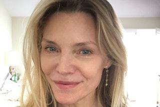 Michelle Pfeiffer senza trucco, a 61 anni è ancora splendida