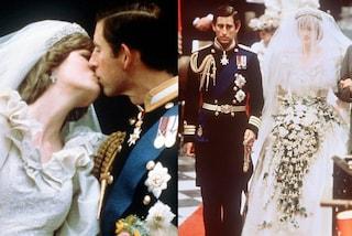 L'abito da sposa della principessa Diana: dopo la sua morte è stato ereditato dai figli