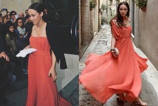 Aurora Ramazzotti ricicla l'abito del matrimonio di Michelle Hunziker: dopo 5 anni le sta benissimo