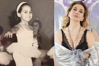 Barbara d'Urso col tutù: da piccola sognava di diventare una ballerina