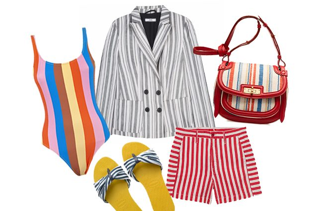 costume Mimì a la mer, giacca .find, short Mother, borsa Bally, sandali Havaianas