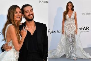 Heidi Klum e Tom Kaulitz si sono sposati: è mistero sull'abito da sposa della modella