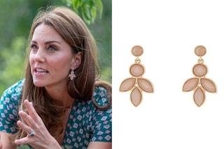 Gli orecchini più trendy dell'estate 2019 sono floreali (e low-cost) come quelli di Kate Middleton