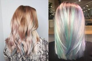 Light Rainbow, i capelli più trendy dell'estate 2019 sono quelli arcobaleno