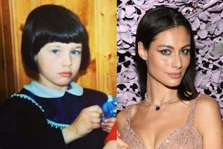 Marica Pellegrinelli da bambina: anche da piccola è sempre stata bellissima
