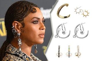 Gli orecchini quest'estate si portano come Beyoncé, a grappolo e tutti insieme
