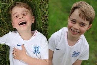 Il compleanno di George: il principe dice addio alle polo, festeggia i 6 anni in t-shirt sportiva