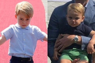 Il principe Louis come il piccolo George, tra i fratellini è sfida di bronci