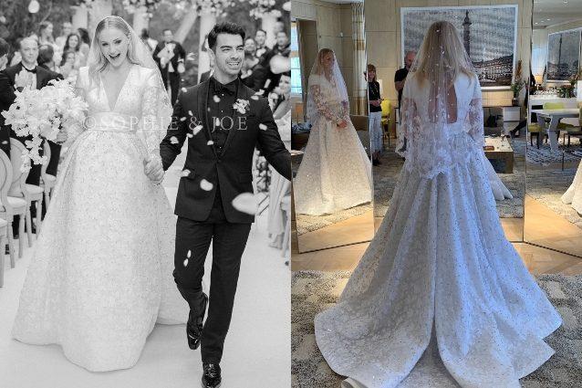 Abiti Da Sposa Secondo Matrimonio.Il Matrimonio Di Sophie Turner E Joe Jonas Abito Da Sposa