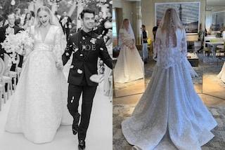 Il matrimonio di Sophie Turner e Joe Jonas: abito da sposa fiabesco nella prima foto delle nozze