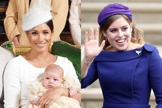 """Tutti vegani a corte: dal piccolo Archie a Beatrice di York, i Royals """"imitano"""" Meghan Markle"""