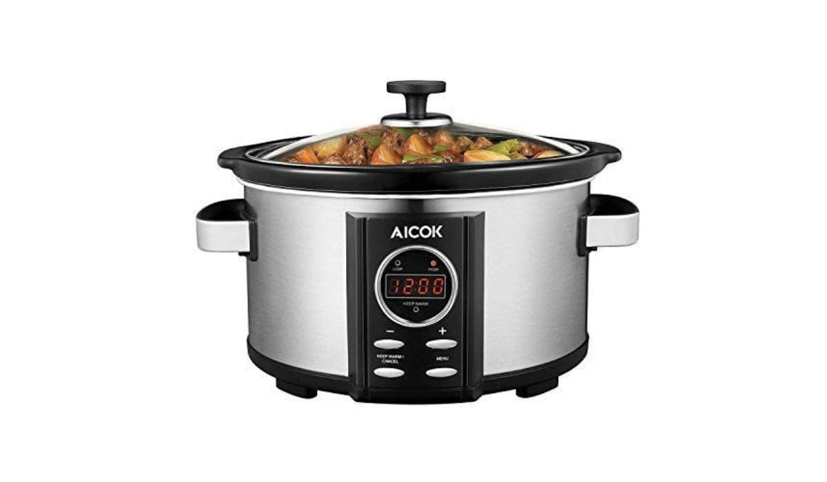 Aicok Slow Cooker 3,5 l