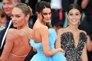 Eye liner, labbra nude e chignon: i protagonisti sul red carpet del Festival del Cinema di Venezia
