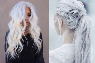 Icy white, le sfumature per i capelli dell'autunno 2019 sono color ghiaccio