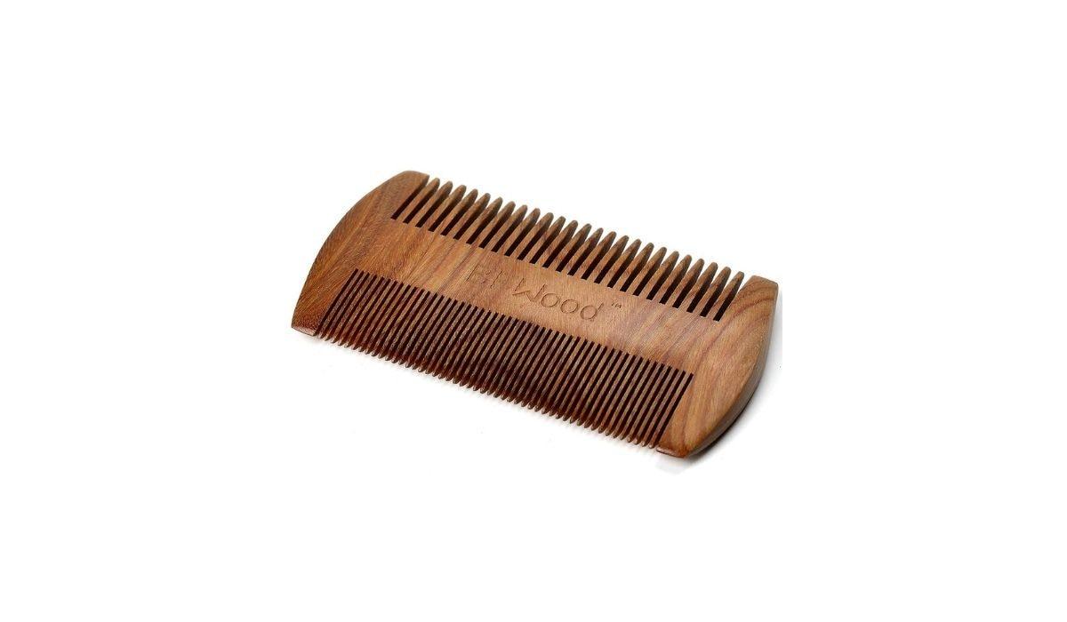 Pettine tascabile per barba e baffi BFWood