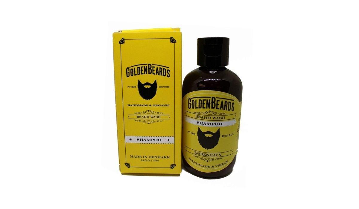 Shampoo per barba Golden Beards