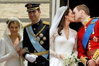 Coppie reali, da Kate e William a Letizia e Filippo di Spagna: le storie d'amore da sogno dei Royals