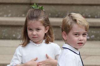 George e Charlotte amano lo sport come mamma Kate: seguono lezioni di nuoto e tennis