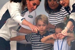 Il principe George mangia le formiche, il gioco che preoccupa Kate Middleton