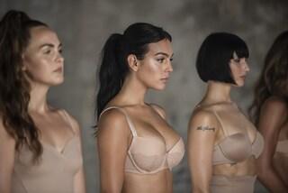 """La rivoluzione di Yamamay: la nuova campagna con Georgina Rodriguez celebra le donne """"normali"""""""