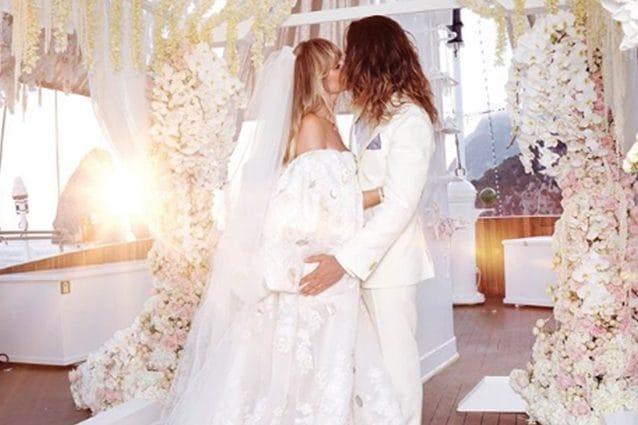 Abito Da Sposa 46.Heidi Klum Il Sontuoso Abito Da Sposa Per Il Matrimonio Con Tom