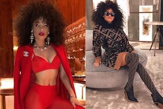 Leila Depina, chi è la nuova fiamma di Lapo Elkann con i capelli afro e la passione per le griffe