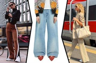 Pantaloni palazzo i più trendy del momento: in estate li vogliamo morbidi, larghi e comodi