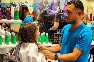 Skyler Eva per la prima volta dal parrucchiere: Elisabetta Canalis affida la figlia al suo stylist