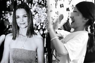 Suri Cruise è cresciuta ed è diventata la fotocopia della mamma Katie Holmes