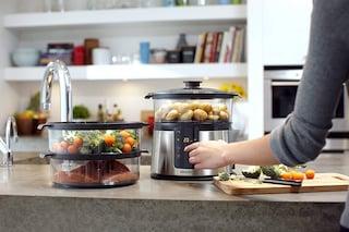 La soluzione per cucinare senza grassi, esaltando sapori e proprietà nutritive