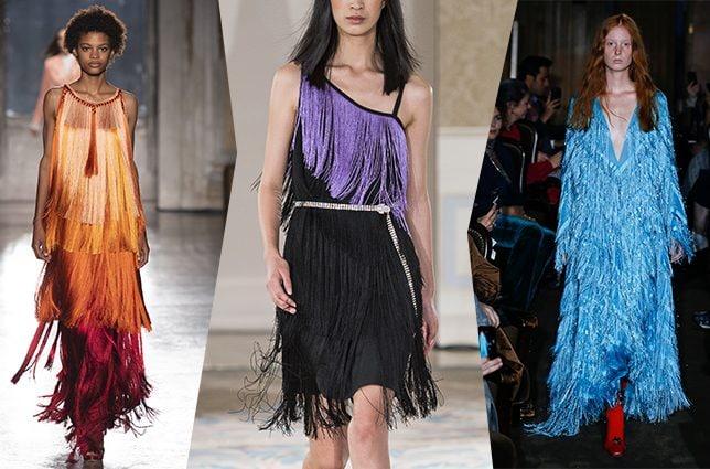 da sinistra Alberta Ferretti, Beatrice B, Gucci
