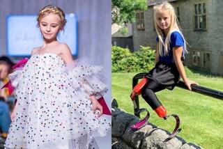 Daisy-May, la prima bambina con le gambe amputate che conquista le passerelle di Parigi e New York