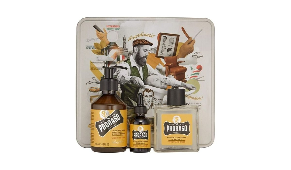 Kit barba Proraso Wood e Spice