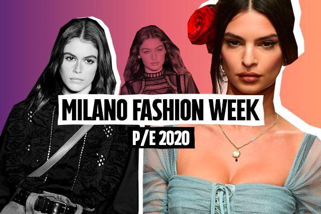 Calendario Moda Milano 2020.Milano Fashion Week P E 2020 Il Calendario Ufficiale Delle