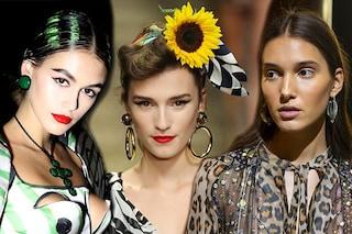 Milano Fashion Week 2019: tendenze trucco e capelli della primavera estate 2020