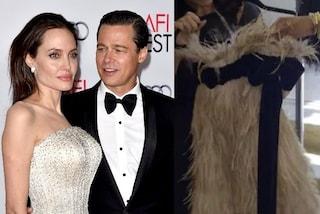 """Il """"vestito della rottura"""" di Angelina Jolie, ha spinto Brad Pitt a lasciare Jennifer Aniston"""