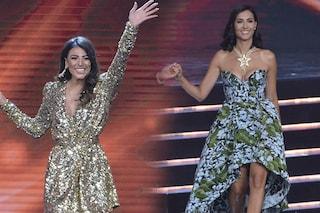 Miss Italia 2019, top e flop sul palco: Caterina Balivo a fiori, Giulia Salemi con le paillettes
