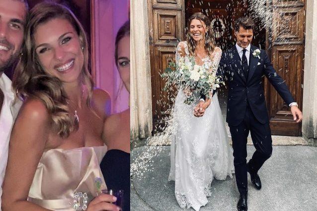 molti alla moda saldi nuova collezione Il matrimonio di Cristina Chiabotto e Marco Roscio: due ...
