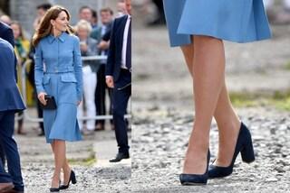 Kate Middleton cambia stile: addio ai tacchi a spillo, lancia il trend delle scarpe comode
