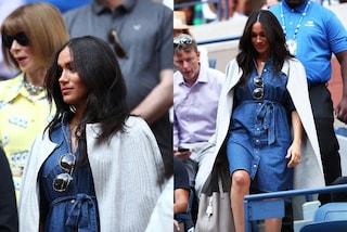 Meghan Markle sempre più rivoluzionaria: in America con l'abito di jeans dopo aver snobbato la regina