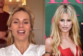 Michelle Hunziker prima e dopo il trucco: mostra la trasformazione per i Green Carpet Fashion Awards