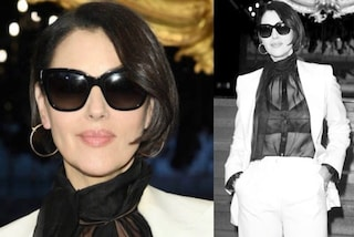 Monica Bellucci passa al caschetto: nuovo taglio di capelli alla Milano Fashion Week 2019