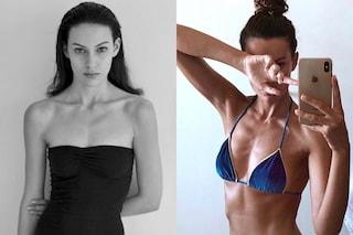"""Paola Turani da modella a influencer, racconta il passato nella moda: """"Avevo il terrore di mangiare"""""""
