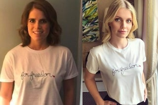 Da Eugenie di York a Kitty Spencer, le Royals in t-shirt bianca per combattere la schiavitù