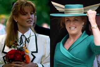 """Sarah Ferguson, 60 anni di look british e audaci: l'evoluzione di stile della Duchessa """"ribelle"""""""