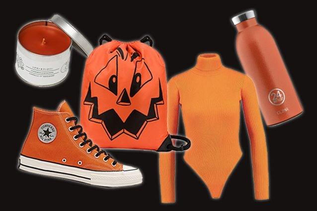candela Muji, sneaker Converse, zaino Moschino, body Miguided, bottiglia 24Bottles