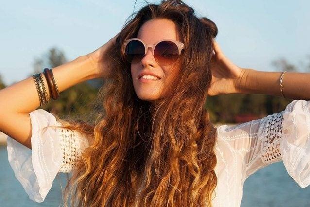 capelli mossi effetto mare