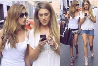 Belén e Cecilia Rodriguez con i capelli biondi: come gemelle nella foto del passato